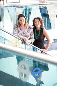 Theresa Burton (CEO Buzzbnk) and Julia Groves (CEO Trillion Fund)